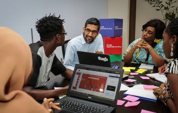 TechNext Weekly: Pichai Said a Lot in Lagos and Bezos Tasted the Peak for a few Hours