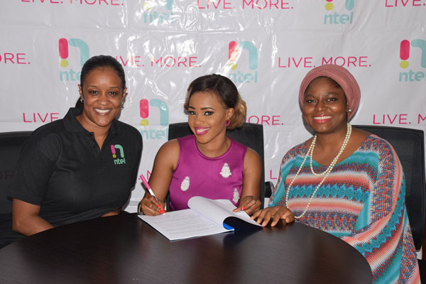 Nollywood Actress, Bose Alao Omotoyossi Becomes Ntel Brand Advocate