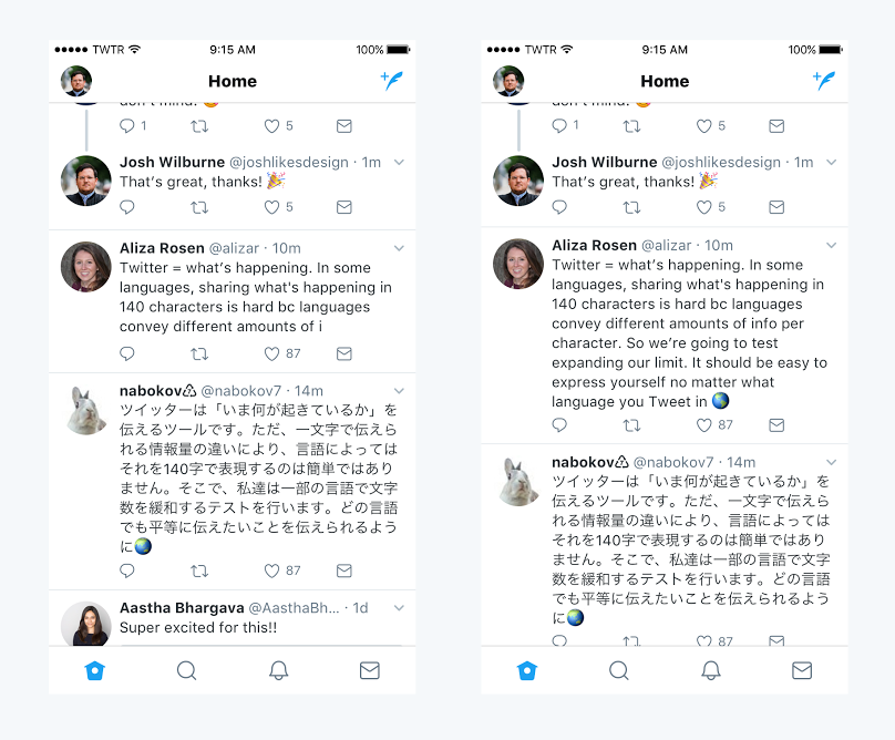 Twitter Doubles Tweet Characters to 280, Users Think it is NOT Cool!