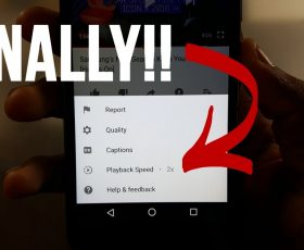 The New Youtube Playback Speed Will Allow You Rewind a Video With Ease!