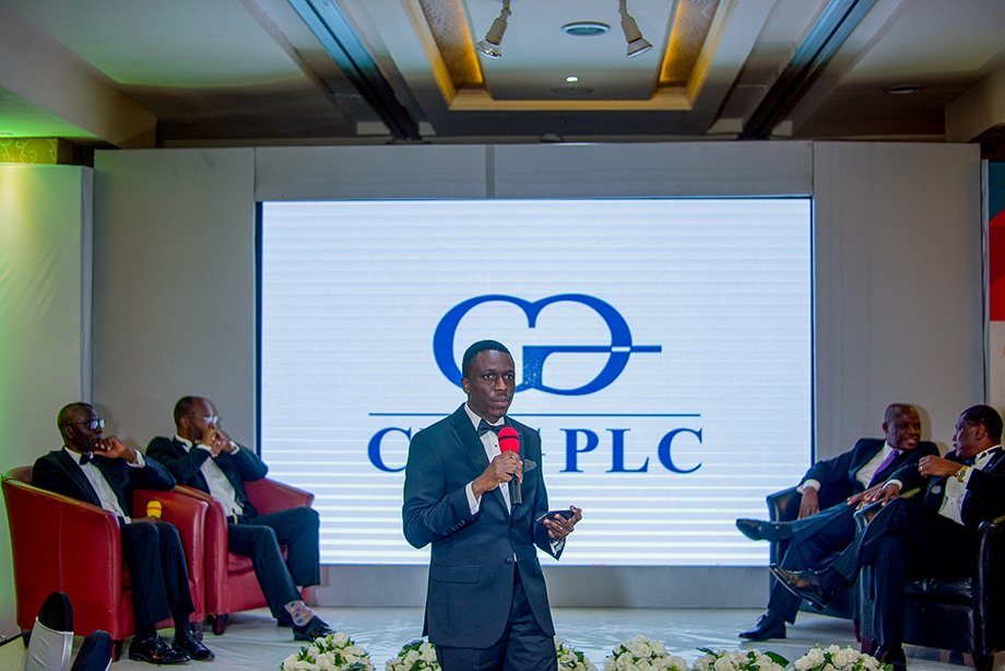 "One of the highlights of the event was the brand exposition wherein Mr Kunle Ayodeji, Chief Operating Officer, CWG Plc, introduced the ausience to the brand look of the future. It is now official the ""Computer Warehous Group Plc"" will now known as ""CWG Plc""."
