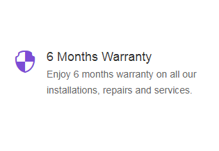 6 Months Warranty- install.com.ng