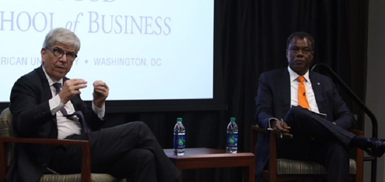 Austin Okere Interviews Paul Romer, World Bank Chief Economist at GBSN Conference