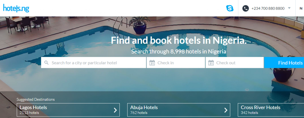 No Stress- Hotels.ng New Mobile App Will Suggest the Best, Closest Hotels to You! 2