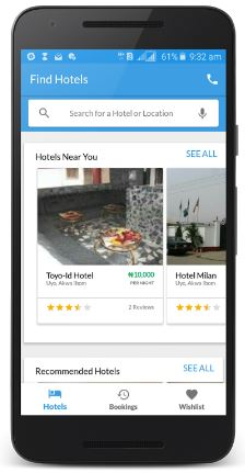 No Stress- Hotels.ng New Mobile App Will Suggest the Best, Closest Hotels to You!