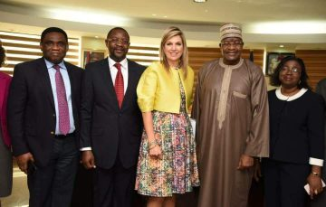 Queen Maxima of Netherlands Visits NCC, Seeks Collaboration on Financial Inclusion