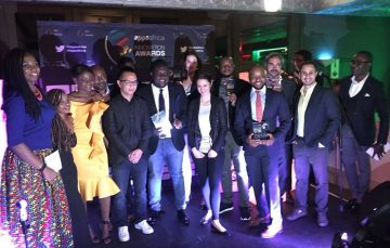 What3Words, Flutterwave, Bounce News Shine at AppsAfrica Innovation Awards 2017