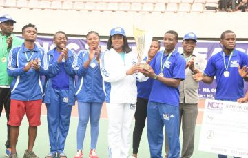Team Civil Defence is NCC Tennis League Champion, Wins N7 Million Prize