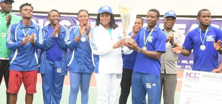 Team Civil Defence is NCC Tennis League Champion, Wins N7 Million Prize