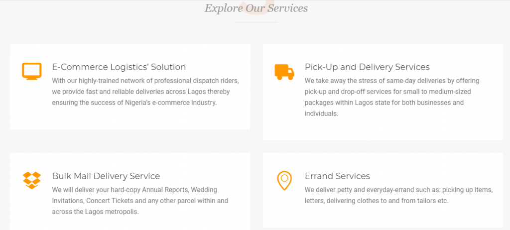 Another E-commerce Logistics Company, Delivery Man, Launched in Lagos 3