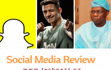 Social Media This Week: Sanchez Joins United, Obasanjo Drops 'Bomb Letter', Instagram, Snapchat Add New Features