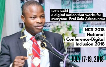 "The 2018 NCS National Conference will Focus on ""Building a Digitally Inclusive Nation"""