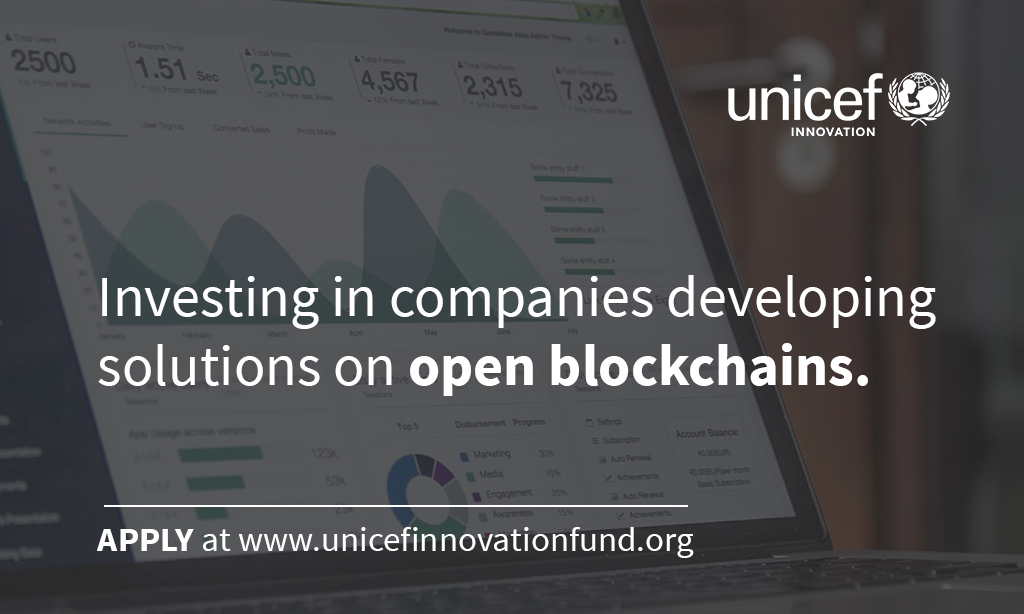 Looking for Seed Funding? Apply for the UNICEF $90,000 Equity-Free Innovation Fund