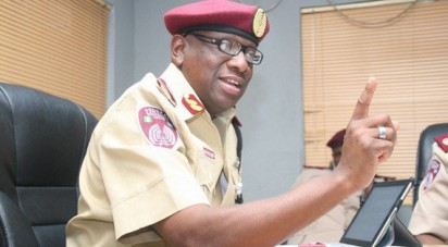 Mr. John Mehaux, the FRSC Zonal Commanding Officer for Ogun and Lagos States