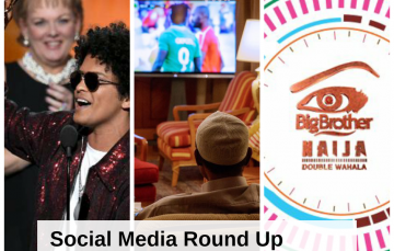 Hashtags Round-up: Bruno Mars Sweeps the #Grammy, #BBnaija Dominates the Space