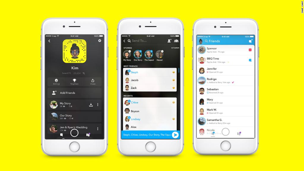 will snapchat go back to the old update