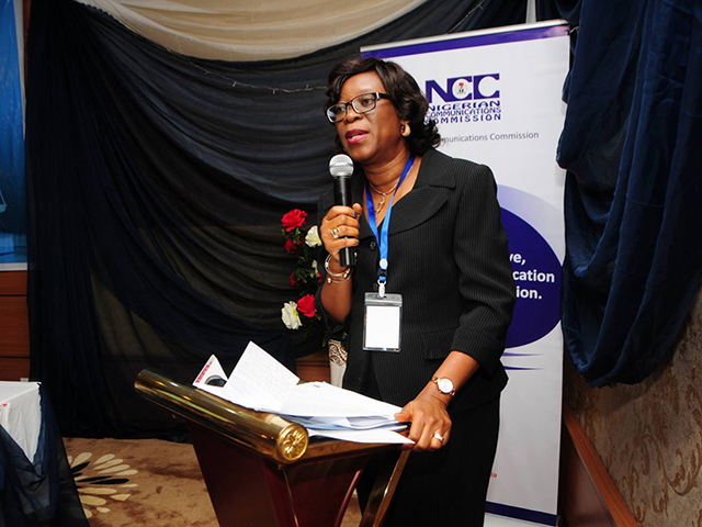 Yetunde Akinloye, NCC's Director of Legal Services
