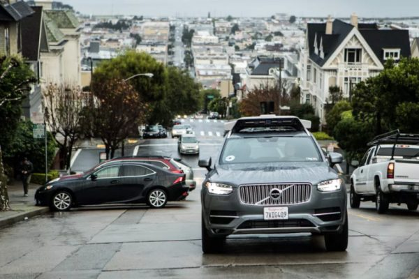 uber has a partnership with volvo