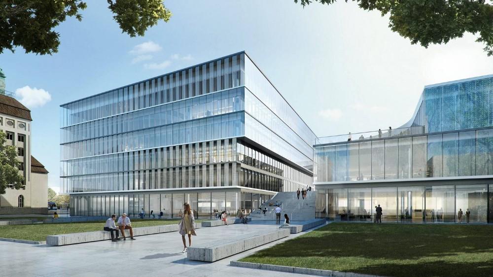 Merck's Innovation Centre in Darmstadt, Germany.