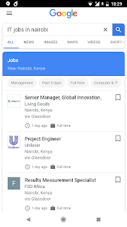 Google Introduces Interesting Features For Nigerian Job Seekers