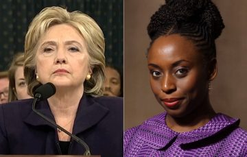 Social Media Roundup: Chimamanda is Upset that Hillary Clinton's Twitter Bio Begins with 'Wife'
