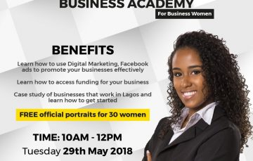 Max.ng Organizes Business Academy for Female Entrepreneurs