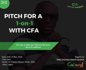 Nigerian Tech Blog, CFATech, Announces Startup Pitch Session