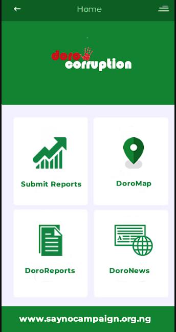 Dorocorruption app