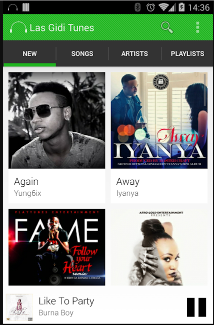 Las Gidi Tunes App