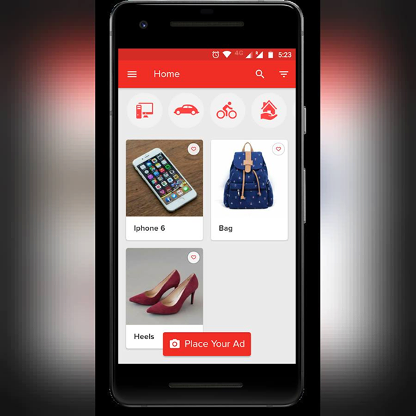 With the uSnapp app, sellers can place ads of their items easily without stress.