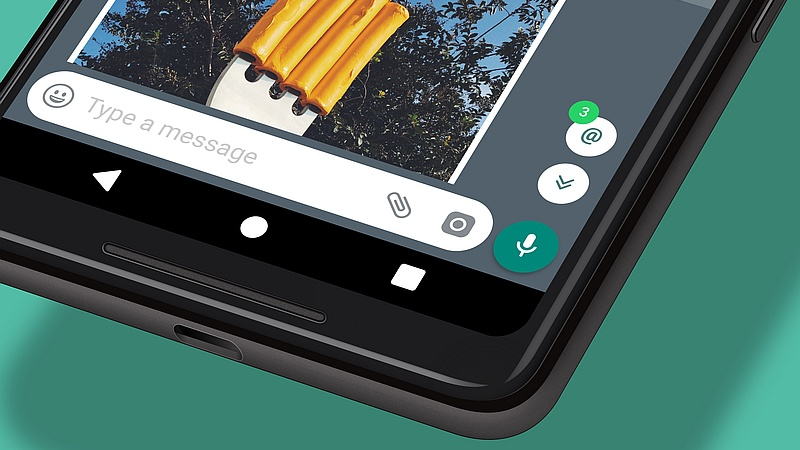 WhatsApp also come with a new Group catch-up feature