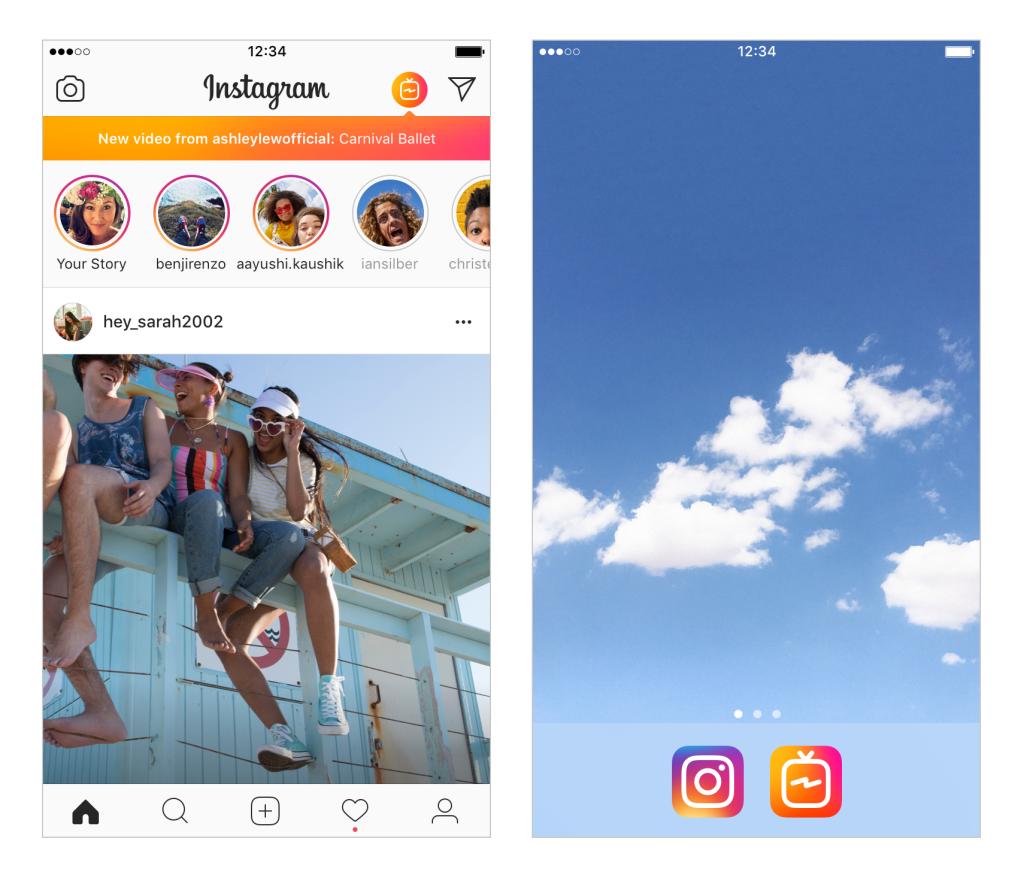 Instagram's new IGTV app