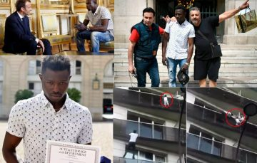 Social Media Roundup: The African Spider-Man of Paris