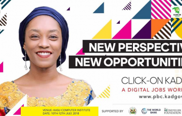 Sign Up for the Click-On Kaduna Digital Training Workshop for Youths