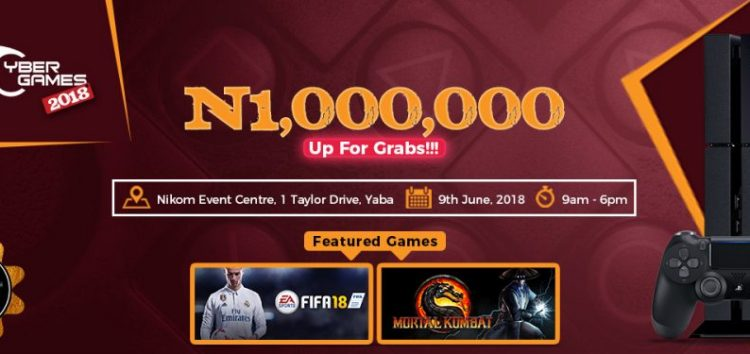 Gamers Grab N1m at the Maiden Edition of CyberGames Competition in Yaba