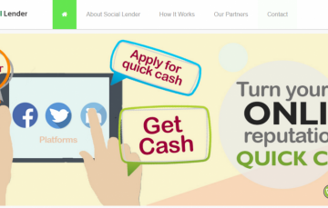 Social Lender Provides Loans by Analyzing your Social Media Activities and Reputation