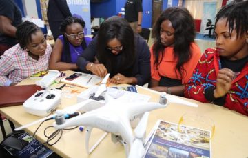 30 Nigerian Students and Women STEM Leaders Get Drone Technology Training from the U.S. Government