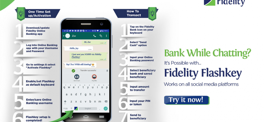 Fidelity Bank's Flashkey Keyboard Will Make Fund Transfer Extremely Fast, But Nobody Will Use it