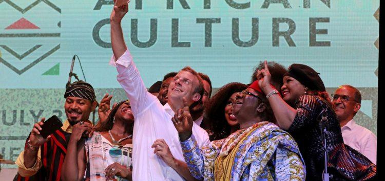 Weekly Roundup:  French President Emmanuel Macron Visits Fela's New Afrika Shrine