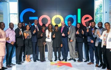 Nigeria's Vice President Visits Google HQ, Ends Tour of Silicon Valley Today