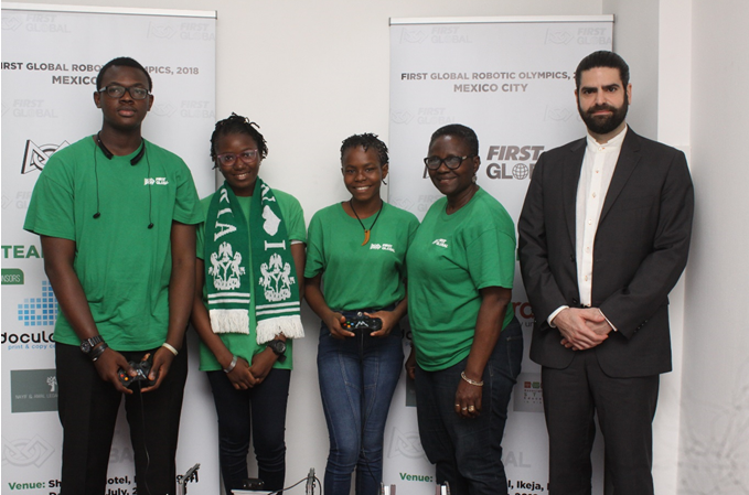 Three Nigerian Students To Participate in the World Adolescent Robotics Competition in China