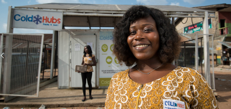 AgriTech Startup, ColdHubs, is a Recipient of the Third Annual Microsoft Airband Grant Fund