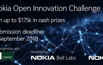 Tech Startups in the IoT Space Can Apply to Win up to $100k in the Nokia Open Innovation Challenge (NOIC) 2018