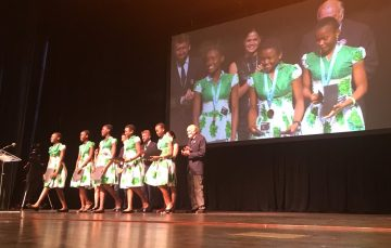 A Team of Five Nigerian Girls Win $10,000 App Award at the Technovation World Challenge in California