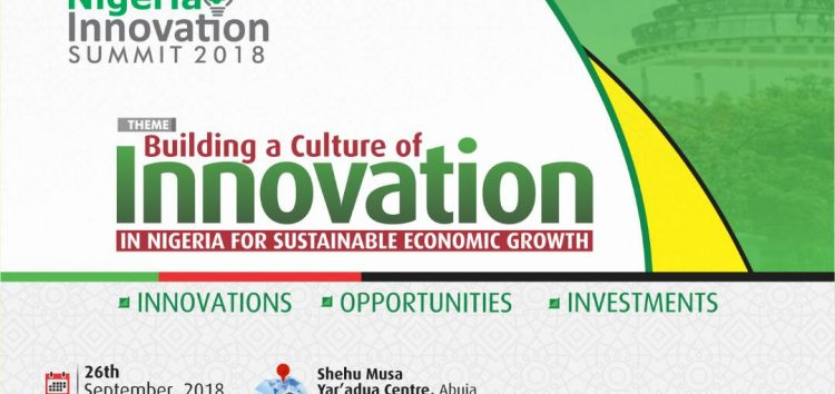 Are you a Startup Founder? Get Ready to Attend the 2018 Nigeria Innovation Summit