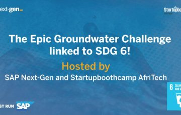 SAP Next-Gen & Startubootcamp Announce the Epic SDG Water Challenge for Innovative Solutions