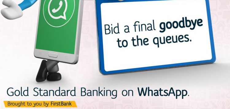 First Bank is the Latest Bank to Bring Banking Services onto the Whatsapp Business Platform