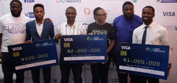 #CashlessLagosHackathon: Team Blended Emerges Winner in the LSETF-Sponsored Event