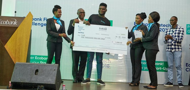 Nigerian Fintech Startup, Wallet.ng Finishes 2nd Runner-up in the Ecobank Fintech Challenge 2018