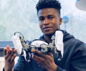 Meet Nigerian Silas Adekunle, the World's Smartest and Highest Paid Robotics Engineer